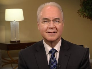 HHS Sec. Tom Price: 'Nobody Will Be Worse Off Financially' Under GOP Health Plan