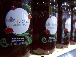 Motown makeover: Ellis Island Tropical Tea
