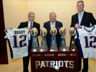Tom Brady's Super Bowl jerseys are safely returned at last