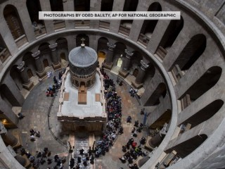 Tomb of Jesus reopens in Jerusalem after multimillion-dollar renovation