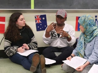 How one high school is welcoming refugee students