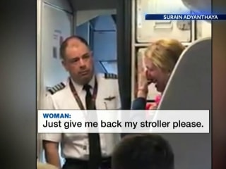 Flight Attendant Suspended After Confrontation on Video
