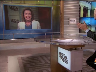 Full Pelosi Interview: Trump is Showing 'Weakness' with Wall