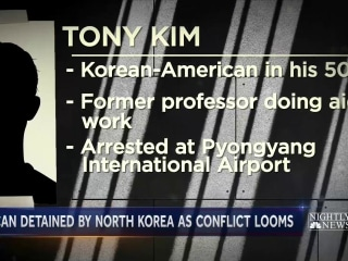 North Korea Detains Third American Citizen, Officials Say