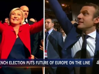 French Election: Centrist Macron, Far-Right Le Pen Emerge Victorious
