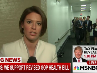 House Conservatives Now Support Revised Health Care Bill