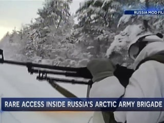U.S. Closely Watching Russia's Arctic Military Build Up