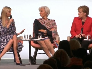 Audience Groans as Ivanka Trump Touts Father's 'Advocacy' of Women