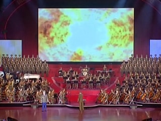 North Korean Gala Ends With Video Mock-Up of Missile Attack on U.S.