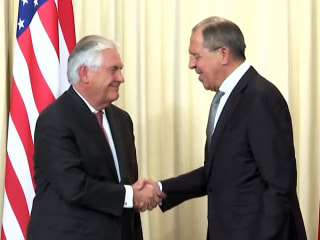 Tillerson and Lavrov Agree to Disagree
