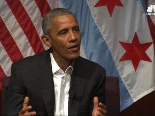 Obama 'Incredibly Optimistic' If Next Generation Prioritizes Civic Engagement