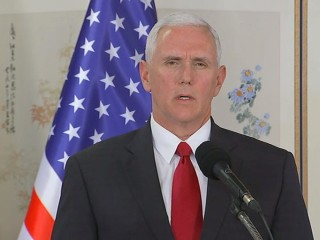 VP Pence Warns North Korea that 'All Options are on the Table'