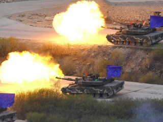 U.S., S. Korean Troops Conduct Live-Fire Drill, Public Jeer Missile Defense System