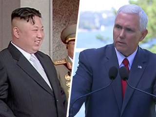 Mike Pence warns North Korea 'all options on the table' amid nuclear test fears