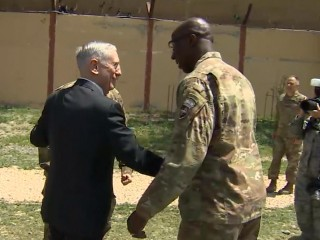 Defense Secretary Mattis makes surprise visit to Afghanistan