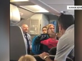 American Airlines flight attendant suspended over confrontation on plane