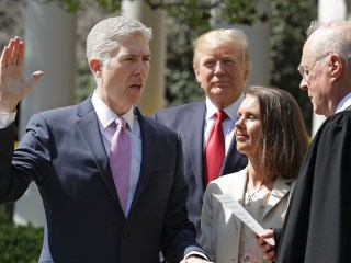 Gorsuch nomination is Trump's main feat in first 100 days, analyst says