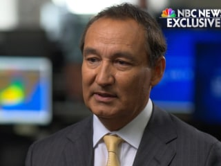 United CEO to Lester Holt: Dragging incident was 'system failure across the board'