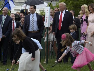 Trump, First Lady Host First Easter Egg Roll at White House