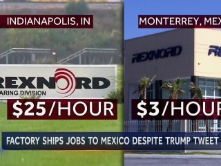 At One Indiana Plant, Company Ignored Trump's Threats over Outsourcing Jobs to Mexico