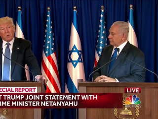 Trump Pledges 'Renewed Effort' for Peace Between Israelis, Palestinians