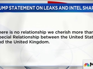 Trump: Intel Leaks on Manchester Investigation 'Deeply Troubling'