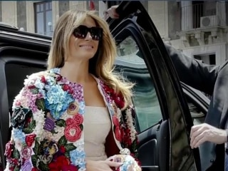 Melania Trump Takes the World Stage