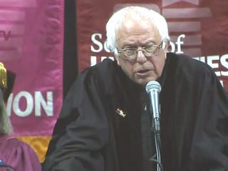 Sanders to Brooklyn College Graduates: 'Think Big'