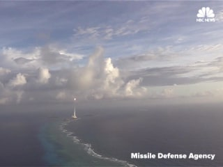 Footage Released of Successful Missile Defense Test over Pacific