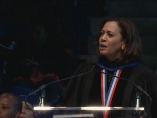 'We have a Fight Ahead': Sen. Kamala Harris Speaks to Howard Grads