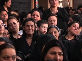 Church Service Held for in Egypt Victims of Coptic Christian Attack