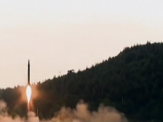 North Korean TV Hails Latest Ballistic Missile Test