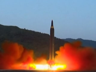 North Korea Tests New Missile 'Able to Carry Nuclear Warhead'