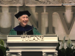 2017 Commencement: Helen Mirren's Full Tulane Speech