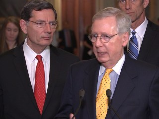 McConnell Asked Why Senate Working Group on Health Care Lacks Women