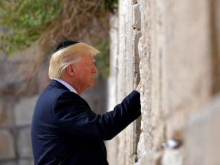 President Trump Makes Historic Visit to Western Wall
