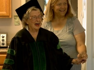 'Rosie The Riveter' Receives Diploma