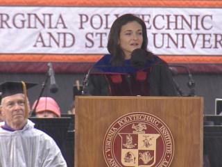 2017 Commencement: Sheryl Sandberg's Full Virginia Tech Speech