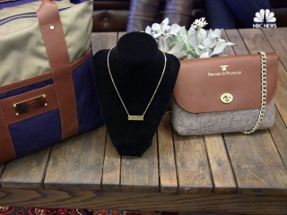 Sisters Create Business Turning Old Military Goods Into All-American Bags