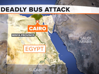 Deadly bus attack in Egypt leaves at least 24 dead