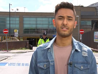 Manchester bombing witness: 'It sounded like a gunshot'