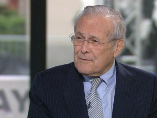 How Donald Rumsfeld is remembering fallen soldiers