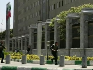 Twin Terror Attacks Hit Tehran, Killing at Least 12