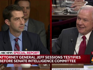 Cotton to Sessions: Allegations More 'Ridiculous' than Spy Fiction