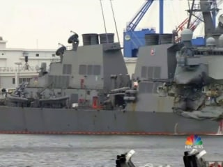 Bodies of 7 Missing U.S. Sailors Found in Flooded Navy Destroyer