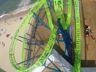 Jersey Shore Gets New Roller Coaster Five Years After Hurricane Sandy