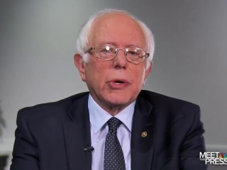 Sanders: 'Massive Amount of Demoralization' Among Voters