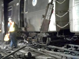 34 Injured in NYC Subway Derailment, Officials Say
