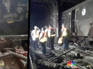 NYC subway derailment blamed on 'human error'