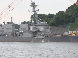 Several Dead in Navy Ship Crash off Coast of Japan
